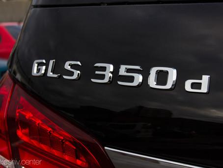 Перетяжка салона Mercedes-Benz GLS 350d кожей и алькантарой