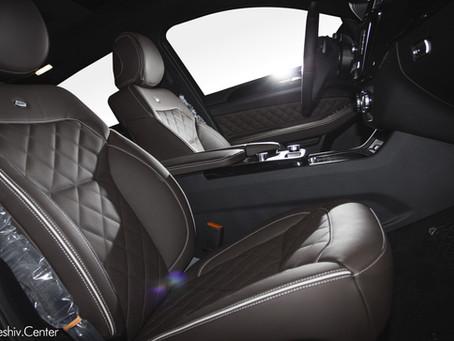 Перетяжка салона Mercedes-Benz GLE кожей
