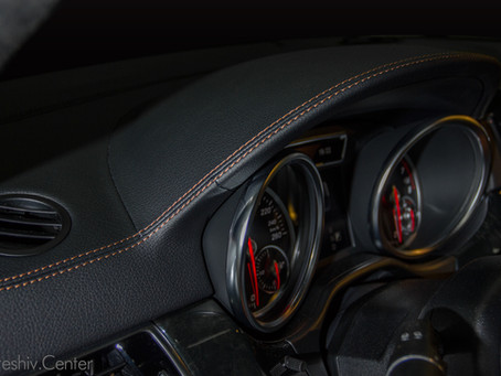 Mercedes-Benz GLS: перетяжка салона и пошив ковриков.
