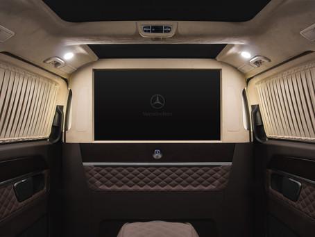 Мобильный офис Mercedes-Benz V-Class