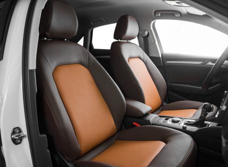 Салон Audi A5: перетяжка натуральной кожей