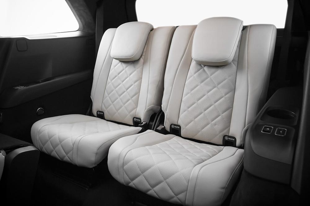 Перетяжка третьего ряда сидений Mercedes-Benz GLE