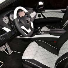 Перетяжка салона BMW