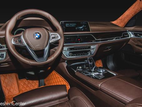 Перетяжка салона BMW 7 серии