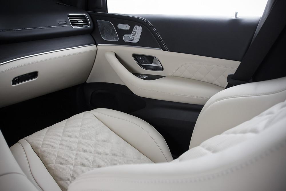 Перетяжка салона Mercedes-Benz GLE натуральной кожей