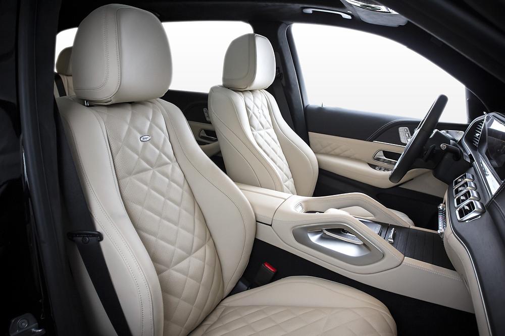 Перетяжка передних сидений и торпедо Mercedes-Benz GLE