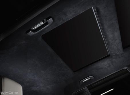Mercedes-Benz GLS: перетяжка салона и потолка