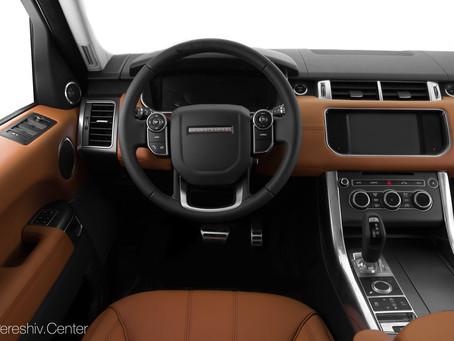 Перетяжка салона Range Rover натуральной кожей