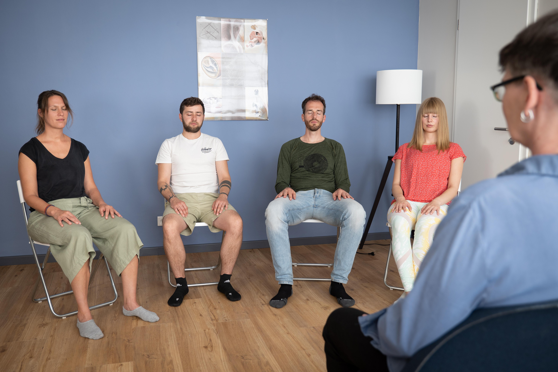 Meditation und Fasziengymnastik