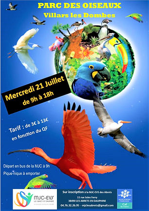 Parc des oiseaux Villard les Dombes - Co