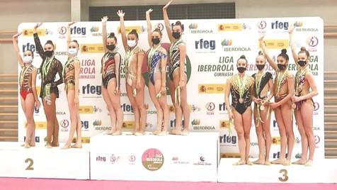 El Club Gimnasia Rítmica Benidorm subcampeón de la I Fase de la Liga Iberdrola