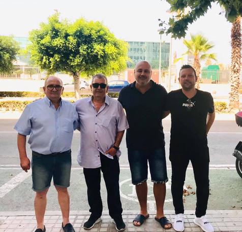 Tomi Segrelles sigue como Director Deportivo del Villajoyosa y Ximo Galiana como Secretario Técnico