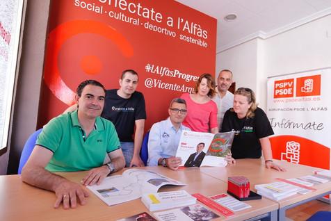 """Vicente Arques: """"Hemos convertido L'Alfàs del Pi en referente de un gobierno progresista"""""""