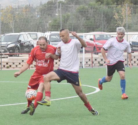 IX Jornada de la Liga del Fútbol 7 Veteranos