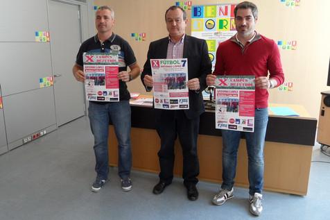 Antonio López presenta la décima edición de su Campus de Fútbol y Torneo de Fútbol 7