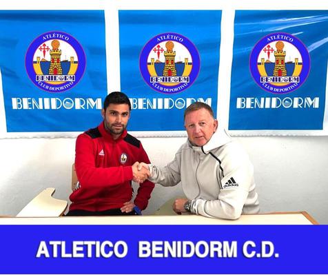Presentados oficialmente el nuevo Director Deportivo y entrenador del At. Benidorm CD