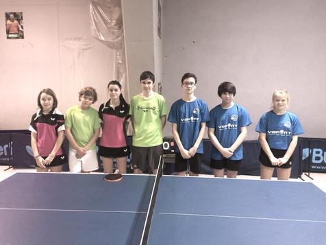 Nueva jornada de tennis taula en la Comarca