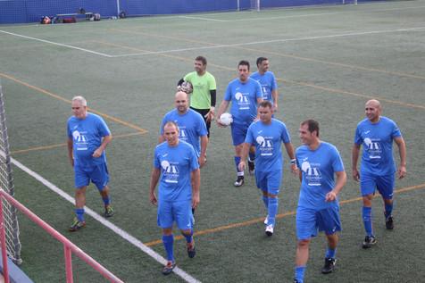 I jornada de la Liga del Fútbol 7 Veteranos
