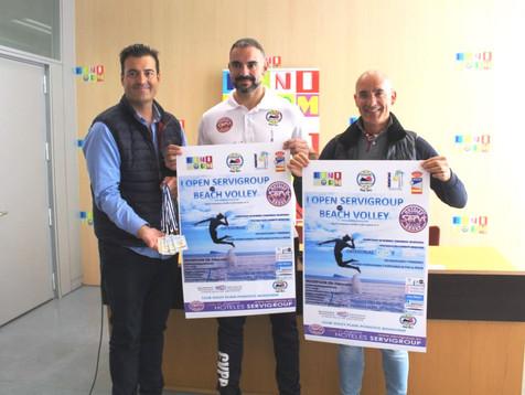Benidorm estrena nuevas pistas de Volei Playa para el I Open Servigroup Beach Volley