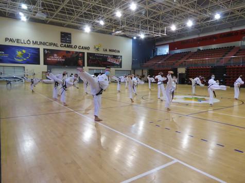 La Nucia acogió el Congreso Nacional de Taekwon-Do ITF