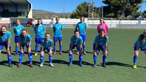 El Femenino B del At. Benidorm volvió a disfrutar del fútbol después de 7 meses