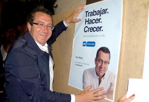 """Toni Pérez """"Una campaña limpia y con propuestas e ideas"""""""
