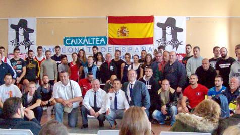 Brillante cierre de temporada de los alzadores de la Marina Baixa en el campeonato de España de Fine