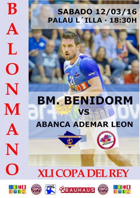 Crónicas y resultados del Balonmano Benidorm