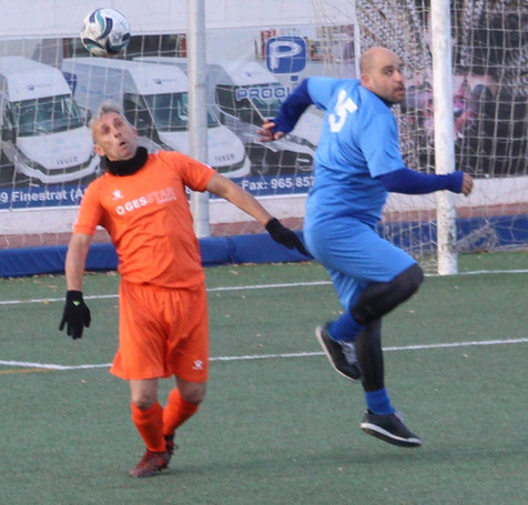 Jornada VII de la Liga del Fútbol Veterano de Benidorm