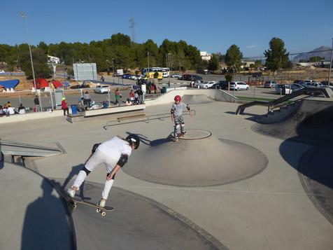 La Escuela de Skate de La Nucía se consolida