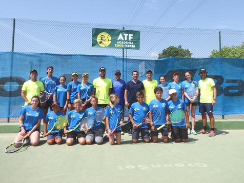 El Campus de Tenis de David Ferrer arranca en La Nucia