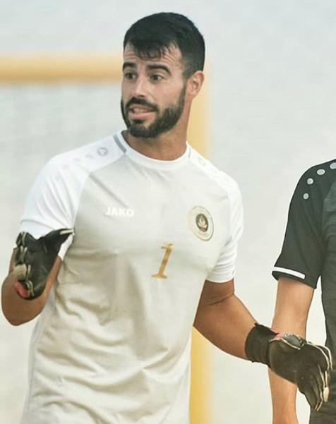 Jose Carlos Caballero en la lista de convocados de la Selección Española de fútbol playa