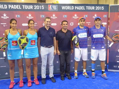 Bela-Lima ganan el World Pádel Tour de La Nucía por el que pasaron más de 20.000 personas