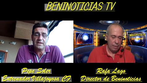 Vídeo entrevista al entrenador del Villajoyosa CF, Pepe Soler