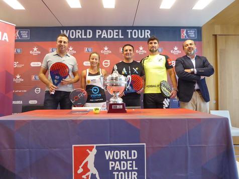 El cuadro principal del World Pádel Tour en La Nucía comienza mañana con las mejores parejas del mun
