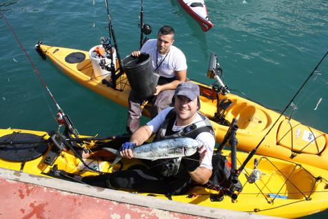 Éxito en la XIII edición del Campeonato autonómico de Pesca al Currican en el Club Náutico de Villaj