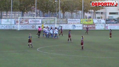 Vídeo resumen del partido entre el Infantil/Cadete Femenino del At. Benidorm y el CD Eldense