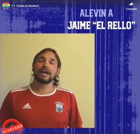 """Jaime """"El Rello"""" vuelve al fútbol 8"""