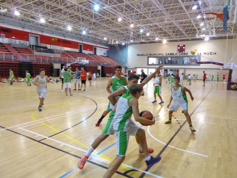 La Nucia CD Campus basket 2015.JPG