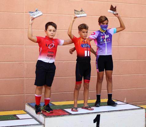 El ciclista alfasino infantil Pere Timoner se impone en Alicante