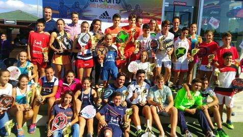 El Máster Nacional Adidas trajo a La Nucía el mejor pádel base nacional