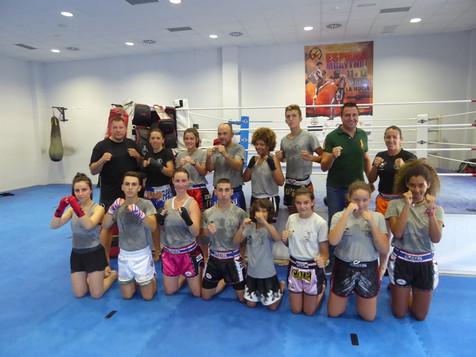 Finaliza el VII Campus Muay Thai impartido por la pentacampeona del mundo Eva Naranjo