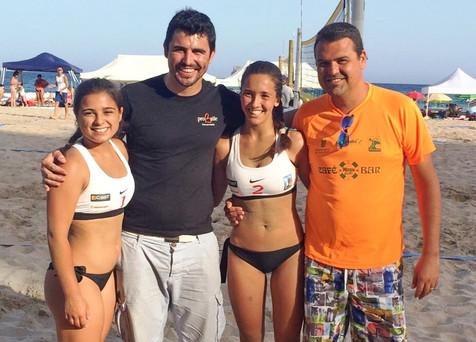 Las jugadoras de Finestrat, Penélope Penichet y Sofía Millán, se clasifican para el Campeonato de Es