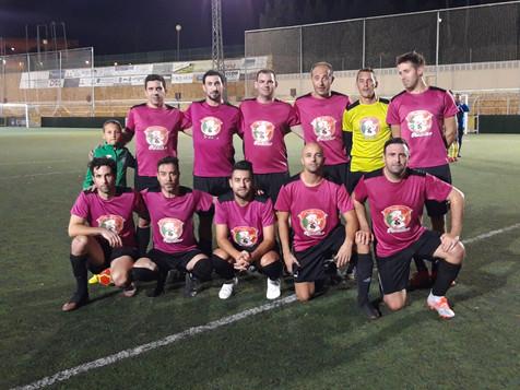 Jornada VIII de la Liga de Fútbol 7 Veterano Marina Baixa