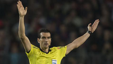 Juan Martínez Munuera, único representante del arbitraje español en el Mundial de Clubes