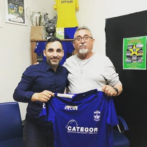 Pepe González, renueva con el CF Calvari Benidorm su compromiso como coordinador de toda la base