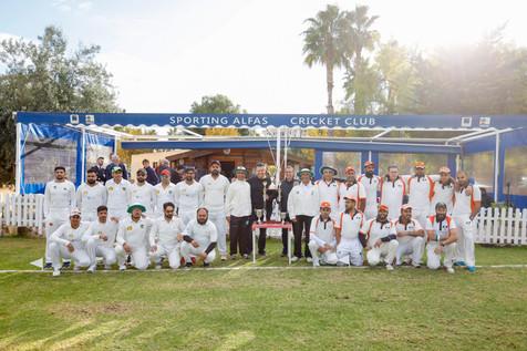 L'Alfàs acoge la final de la Liga Nacional de Cricket