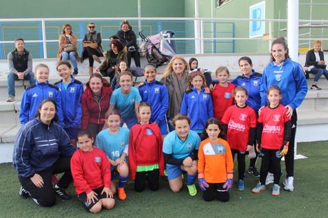Vídeo montaje del primer entrenamiento de la Selección Femenina de Fútbol Base de Benidorm