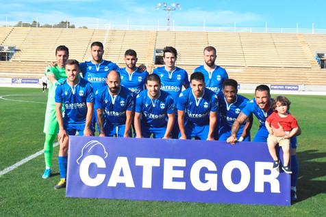 Galería de 32 fotografías del partido entre el CF Benidorm y el CD Pedreguer
