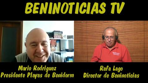Vídeo entrevista con Mario Rodríguez, presidente del Club Voleibol Playas de Benidorm
